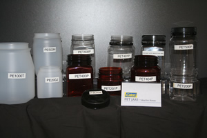 Jars, tubs, lids, and closures