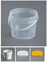 Plastic Pails and Lids to Suit